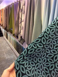 Camira showroom Fabric wall