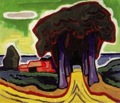 Karl Schmidt-Rottluff Emil Nolde, Max Beckmann, Ernst Ludwig Kirchner, Wassily Kandinsky, Paul Klee, Karl Schmidt Rottluff, Degenerate Art, Organic Art, Edvard Munch