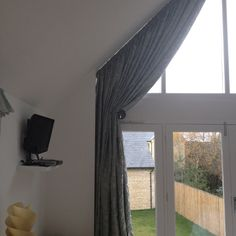window treatments for angled windows - Google Search