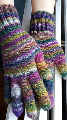Ravelry: hustigern's Happy gloves
