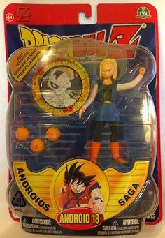 "Dragonball Z 5"" ANDROID 18 ANDROIDS SAGA IRWIN TOYS 1989 Rare Find #Irwin Dbz Toys, Android 18, Dragon Ball Z, Saga, 18th, Ebay, Dragon Dall Z"