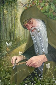 The Merlin - Prophet of the Woods © Jo Jayson