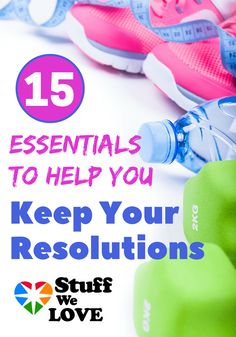 We can help you keep your resolutions with these 15 essential products. From meditation to journaling, the right shoes and essential oils, you can stay healthy, workout and keep your resolutions--these products are the motivation.