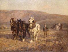 The Harrow Joseph Harold Swanwick Reading Museum & Town Hall Farm Art, Cottage Art, Art Uk, Town Hall, Horse Art, Animal Paintings, Farm Life, Farms, Joseph