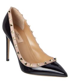VALENTINO Valentino Rockstud Patent Pump'. #valentino #shoes #pumps & high heels