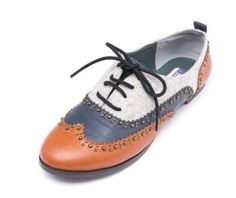 lebunnybleu Elvin Oxfords Navy