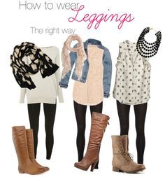 Yes there's a right way and a wrong way to wear leggings, but mostly there's just a TON of ways to wear leggings!  Grab a pair of the #1 best selling leggings now only $12.99 on Amazon.