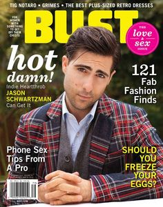 Hot Off the Presses—Feb/Mar BUST with Jason Schwartzman