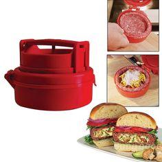 Stufz Stuffed Hamburger Burger Press Meat Pizza Stuffed Patty Maker
