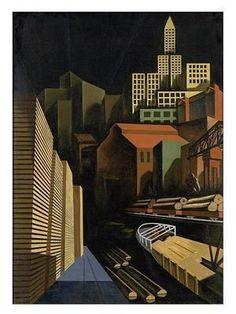 Louis Lozowick - Seattle (1926)