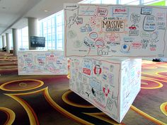 Graphic Facilitation Boards – Promaxbda 2012 Conference in LA
