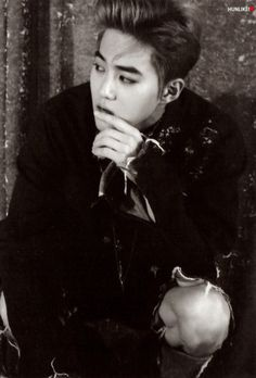 Suho - 160818 'Lotto' album contents photo - [SCAN][HQ] Credit: Hunlike.