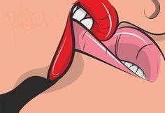 lips passion art vector coreladraw maxpulso pulsov pulso sticker ipad iphone