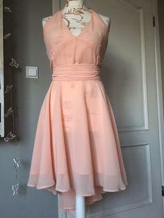 SHE IS ME  Peach Dress