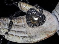 Heart In My Hand by MADDjewels on Etsy, $20.00