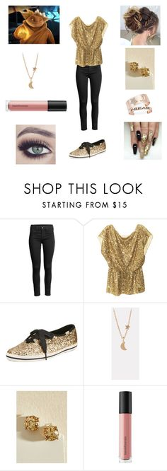 """""""Rise of the Guardians - Hey, Mr. Sandman"""" by briannabelle2011 ❤ liked on Polyvore featuring Alice + Olivia, Kate Spade, Pernille Corydon and Bare Escentuals"""