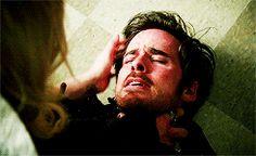 Colin O'Donoghue - Killian Jones - Captain Hook - Emma Swan - Jennifer Morrison - Once Upon A Time 5x8