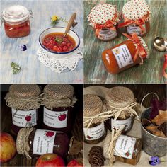 Proceso de envasado para conservas caseras Easy Homemade Recipes, Sweet Recipes, Tomato Jam, Jelly Jars, Barbacoa, Dessert, Food Menu, Food And Drink, Cooking Recipes