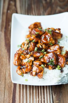 Quick and Easy Cashew Chicken on ohsweetbasil.com