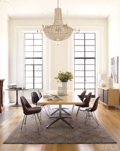 Great Design Minds: A Beautiful Collaboration - nice french doors/window