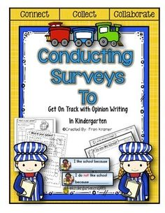 Dear Friends, As we approach second half of the year kindergarten teachers must look at strategies for teaching opinion writing, reflected in the Common Core standards. This packet will help to guide your students in a systematic way, using a collaborative model.Children will have the opportunity to graph their opinion and analyze the data collected.
