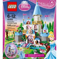 LEGO® Disney Princess Cinderella's Romantic Castle 41055 $59.99 (polka dot wrap) 2016