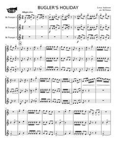 Buglers holiday trumpet trio pdf