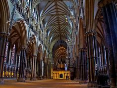 Lincoln cathedral Inside | Ian Foss | Flickr