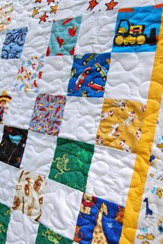 Confessions of a Fabric Addict: I Spy Quilt