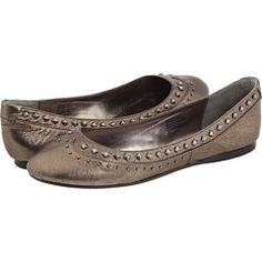 Might these be the metallic flats of my heart? #shoes #flats $43.20
