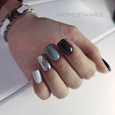 32 Black Square Nails Design You Should Know in 2019 Summer Trend - Top Nails Art