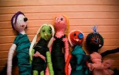 Art Therapy: Sharing Directives: Stress Dolls