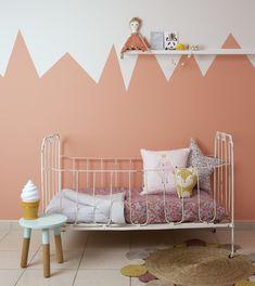 Love the monochrome kids room | Jotun kidscollection