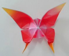 Farfalla - origami fatti a mano  Butterfly - origami handmade
