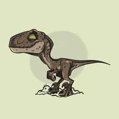 Jurassic Park Velociraptor Coloring Page Free Coloring