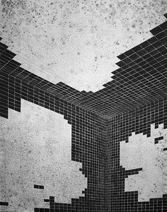 Danny Jauregui | There Goes the Neighborhood, 2010, gouache on canvas, 152.4 x 243.8 cm