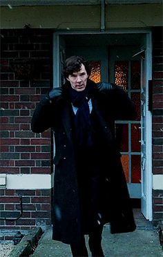SHERLOCK (BBC) ~ Season 3, Episode 1: The Empty Hearse. Benedict Cumberbatch as Sherlock Holmes. [Video/GIF]