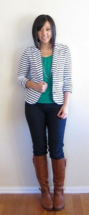 1000+ Images About How To Wear My Striped Blazer