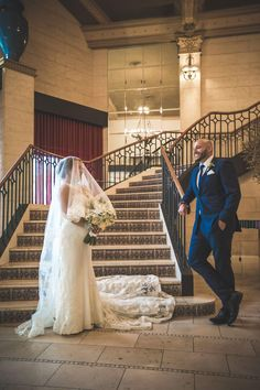 A very happy couple posing on the grand sweeping staircase - The Royce Hotel Melbourne Wedding Venue Hotel Meeting, Melbourne Wedding, Old World Charm, Couple Posing, Royce, Wedding Venues, Poses, Weddings, Luxury
