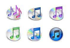 Itunes Logo Evolution