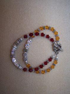 Swarovski Crystal Beaded Mothers Bracelets --SUPER IDEA FOR MOTHERS DAY!!!!