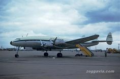 [c/n 1967] [feb45-1965] [C69/L049/L049D] Lockheed Constellation [G-ARVP] [Euravia] [may63] [1965]