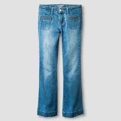 Girls' Flare Jean Cat & Jack - Light Wash