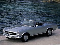Vintage Mercedes convertible.