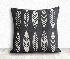 Geometric Pillow Cover Pillow Cover Tribal Pillow by 5CHomeDecor, $14.99 - Some great pillows here! Affordable