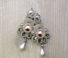 Check out this item in my Etsy shop https://www.etsy.com/listing/512893698/beautiful-soutache-dangle-earrings