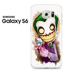 Joker Is The Crazy Cartoon Character Samsung Galaxy S6 Case