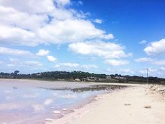 Pink salt lakes  #RottnestIsland by reluctantwanderlust http://ift.tt/1L5GqLp