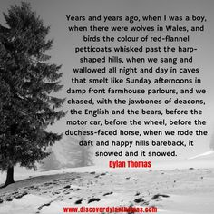 Welcome to the official Dylan Thomas website, where you will discover the work and life of Dylan Thomas, one of the finest poets the world has ever seen. Dylan Thomas, Day For Night, Singing, Wales, Life, Christmas, Xmas, Welsh Country, Weihnachten
