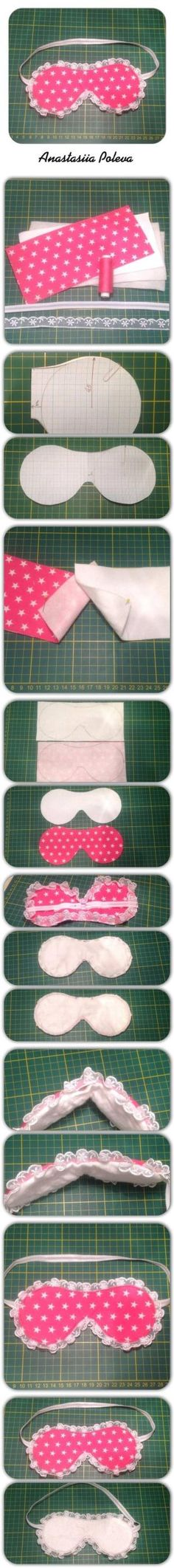 DIY Sleeping Mask DIY Sleeping Mask by diyforever